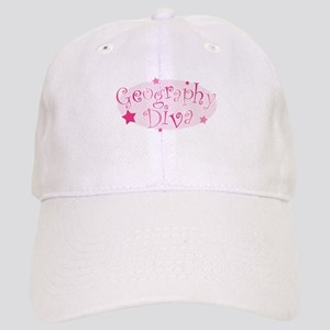 """""""Geography Diva"""" [pink] Cap"""